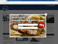 Pop up reklama a Google